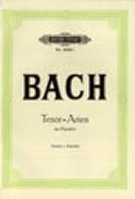 Bach Johann Sebastian : 15 Tenor Arias from Cantatas