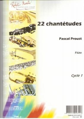 22 Chantetudes For Flûte