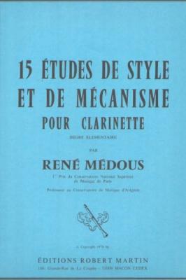 15 Etudes De Style Et De Mécanisme