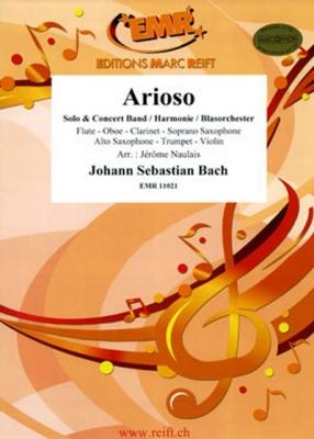 Bach Johann Sebastian : Arioso (Flute Solo)