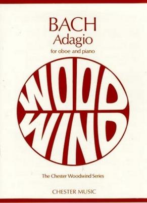 Bach Johann Sebastian : Bach Adagio Oboe/Piano