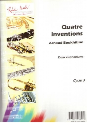 4 Inventions Pour 2 Euphoniums