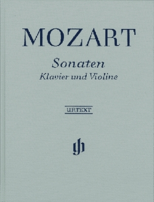 Mozart Wolfgang Amadeus : Sonatas for Piano and Violin in one Volume