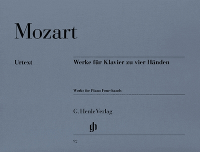 Mozart Wolfgang Amadeus : Works for Piano four-hands