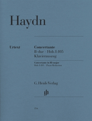 Haydn Franz Josef : Concertante for Oboe, Bassoon, Violin, Violoncello and Orchestra Hob. I:105