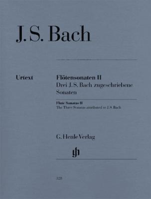 Flûte Sonatas, Vol.II (3 Sonatas Ascribed To J. S. Bach - With Violoncello Part)