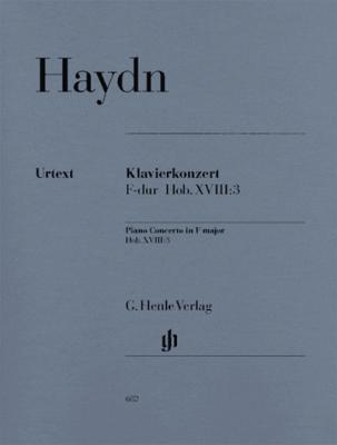 Concerto For Piano (Harpsichord) And Orchestra F Major Hob. XVIII:3