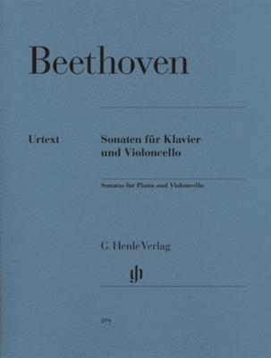Beethoven Ludwig Van : Sonatas for Piano and Violoncello