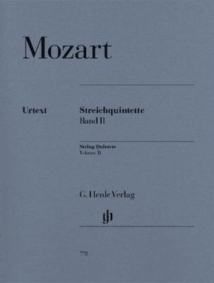 Mozart Wolfgang Amadeus : String Quintets Volume 2