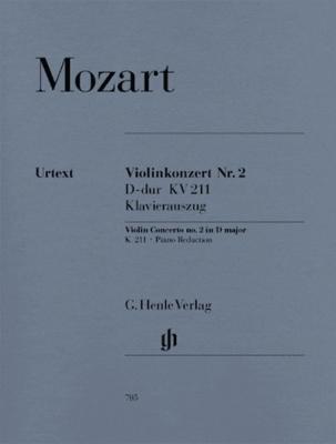 Violin Concerto #2 D Major K. 211