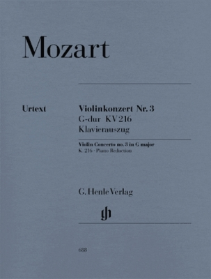 Violin Concerto #3 G Major K. 216