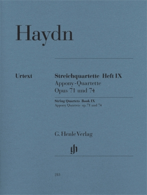 String Quartets Book IX Op. 71 And 74
