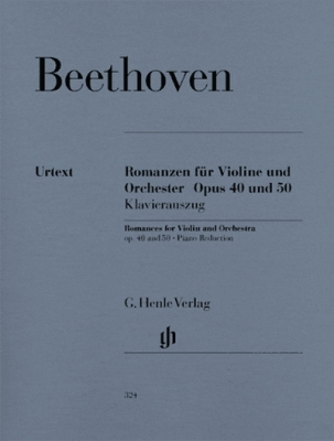 Romances For Violin And Orchestra Op. 40 And 50 In G And F Major