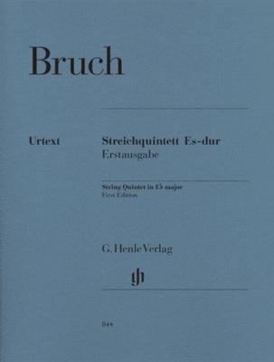 Bruch Max : String Quintet in E flat major