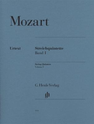 Mozart Wolfgang Amadeus : String Quintets Volume I