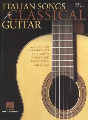 Italian Songs For Classical Guitar