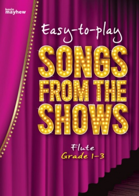 Easy-to-play Songs from the Shows - Flute