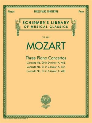 Mozart : 3 Piano Concertos