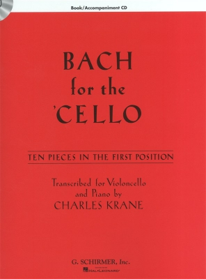 Bach Johann Sebastian : Bach For The Cello - 10 Easy Pieces In 1st Position