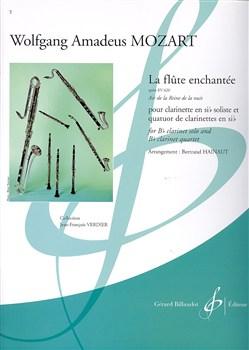 Mozart Wolfgang Amadeus : Wolfgang Amadeus Mozart : La flûte enchantée - Air de la reine de la nuit