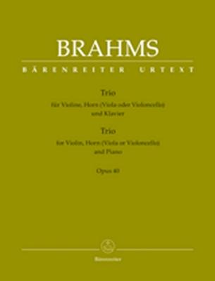 Trio For Violin, Horn (Viola Or Violoncello) And Piano Op. 40