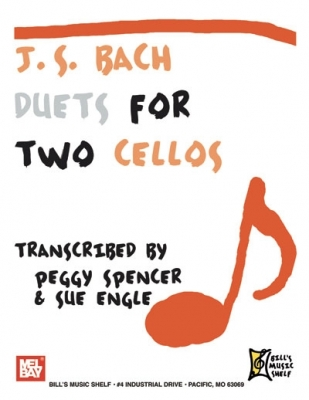 Bach Johann Sebastian : J.S. Bach: Duets for Two Cellos