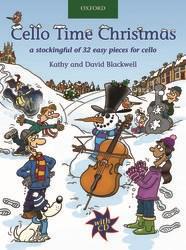 Blackwell Kathy / Blackwell David : Cello Time Christmas + CD