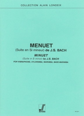 Bach Johann Sebastian : Menuet