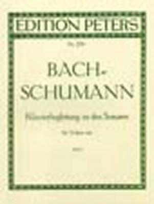Piano Accompaniment To The Sonatas For Solo Violin, Vol.1