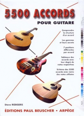 Rodgers Steve : Accords pour guitare (5500)