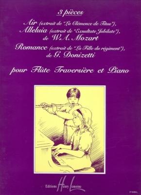 Mozart Wolfgang Amadeus / Donizetti Gaetano : Pièces (3)
