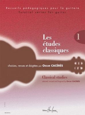 Caceres Oscar : Les études classiques Vol.1