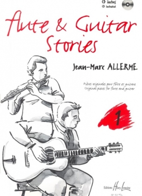 Allerme Jean-Marc : Flute and Guitar Stories Vol.1