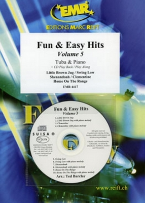 Barclay Ted : Fun and Easy Hits Volume 5 + CD (5)
