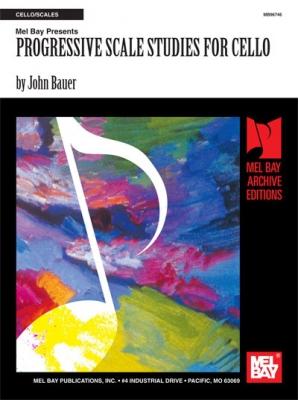 Bauer John : Progressive Scale Studies for Cello