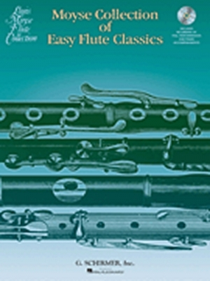 Moyse : Moyse Collection Of Easy Flute Classics Cd