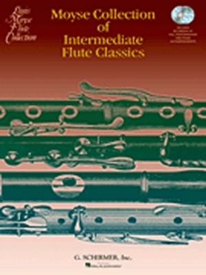 Moyse : Moyse Collection Of Intermediate Flute Classics 2 Cd