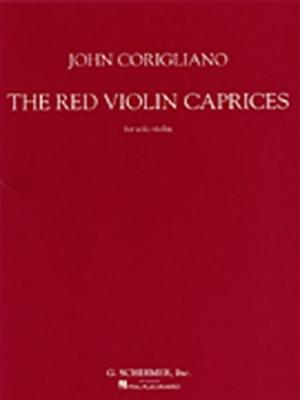 Corigliano John : Corigliano Red Violin Caprices For Solo Violin