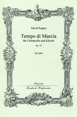 Popper David : Tempo di Marcia, op. 16