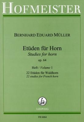 Etuden, Op. 64, 22 Etuden Für Waldhorn, Heft 1