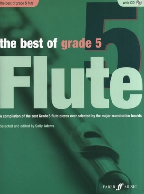 Adams Sally : Best of Grade 5, The (flute) (book/CD)