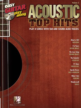 Easy Guitar Play-Along Volume 2: Acoustic Top Hits