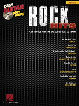 Easy Guitar Play-Along Volume 3: Rock Hits