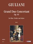 Giuliani Mauro : Grand Duo Concertant Op. 85