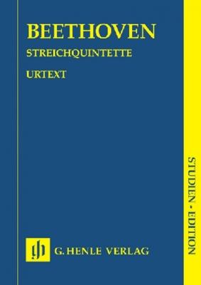Beethoven Ludwig Van : String Quintets