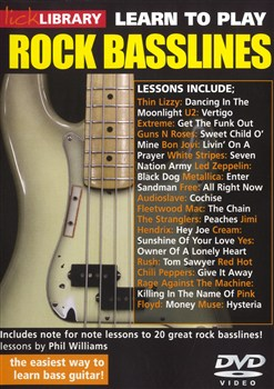 Learn To Play Rock Basslines