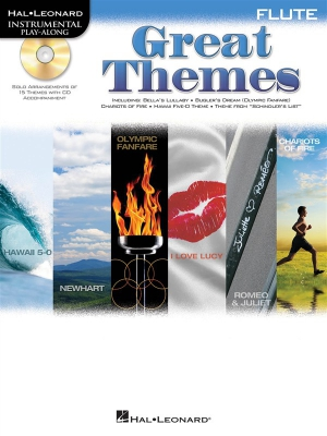 Flute Play-Along: Great Themes
