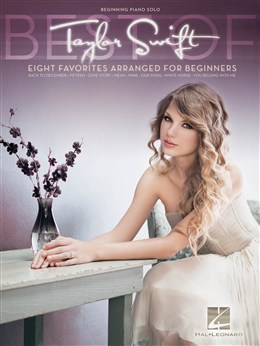 Swift Taylor : Beginning Piano Solo Songbook