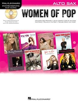 Hal Leonard Instrumental Play-Along: Women of Pop - Alto Saxophone