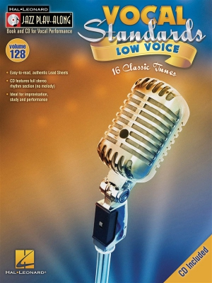 Jazz Play Along Vol.128 : Vocal Standards - Low Voice
